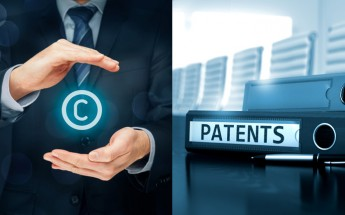 The difference between patent and copyright